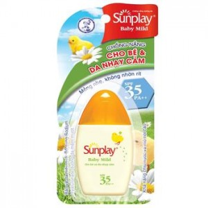 Sữa Chống Nắng Rohto Sunplay Baby Mild SPF35
