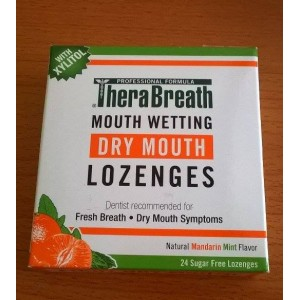 Kẹo TheraBreath Mouth Wetting Longes