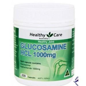Viên bổ khớp Nature's Care Glucosamine HCL 1000mg
