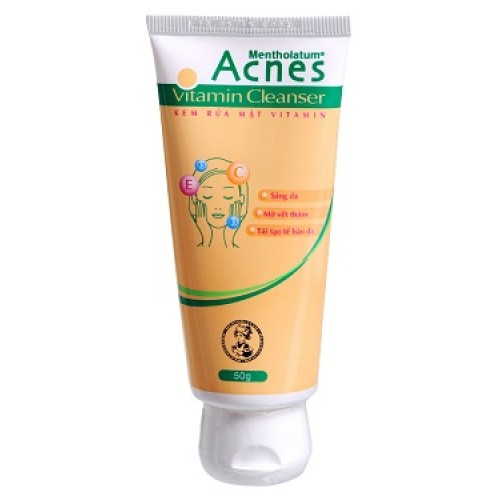 Kem rửa mặt Acnes vitamin Cleanser