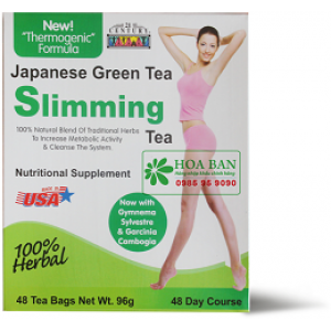 Trà giảm cân Slimming Tea With Japanese Green Tea