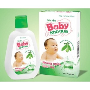 Sửa tắm baby khổ qua