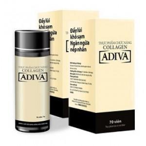 Viên uống Collagen Adiva
