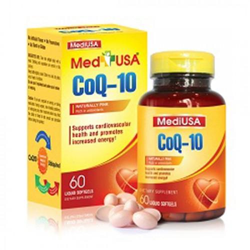 Viên uống bổ tim mạch MediUSA CoQ- 10