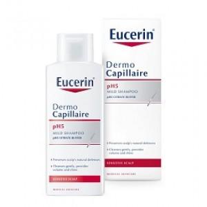 Dầu gội đầu Eucerin DermoCapillaire pH5 Mild