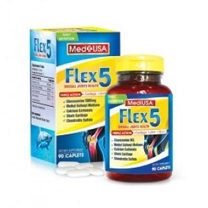 Viên uống bổ xương khớp MediUSA Flex- 5