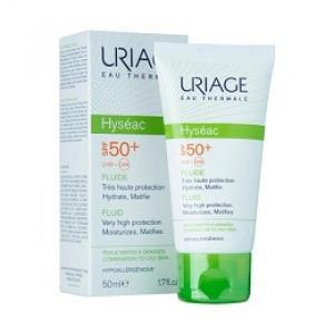 Kem chống nắng dành cho da dầu, dau hỗn hợp Uriage Eau Thermale Hyseac Fluide SPF 50+
