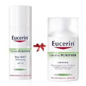 Kem dưỡng trắng da Eucerin DemoPurifyer Day Mat SPF30
